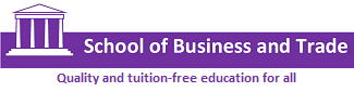 School of Business and Trade Logo